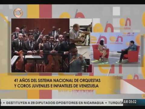 Sistema Nacional de Orquestas de Venezuela beneficia a más de 780 mil niños