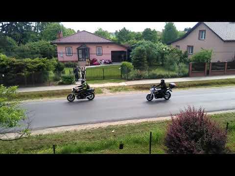 Parada 7-go Zlotu Motocyklowego KOLUSZKI 2018