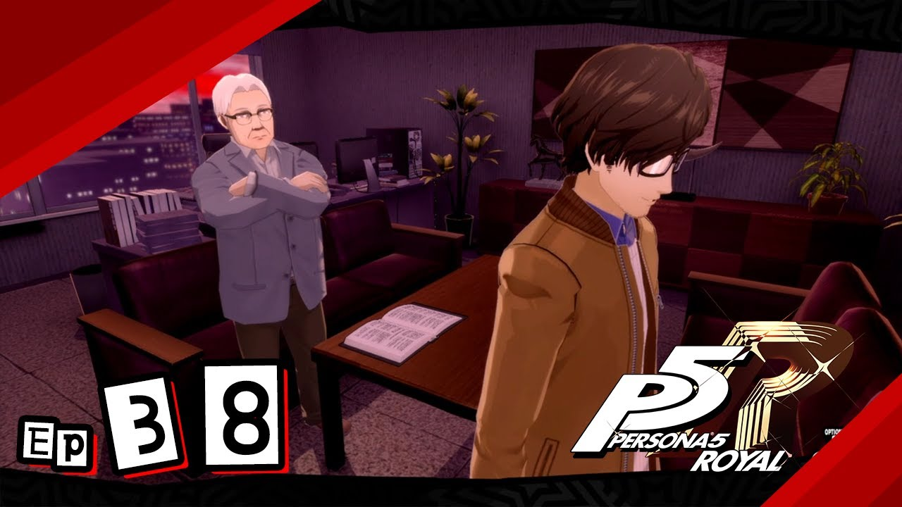 Persona 5 Royal Let Us Start The Game 38 Youtube