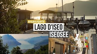 Magischer Iseosee (Lombardei): Dreaming of Lago d'Iseo (Lombardia)
