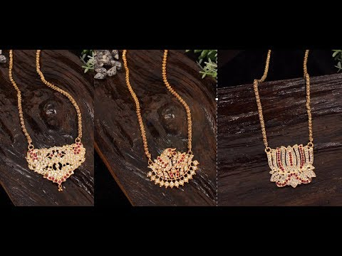 Women Traditional Long Chain With Pendant Designs