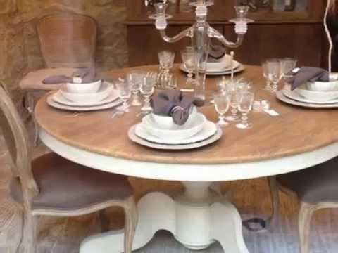 Mesas de comedor redondas  YouTube