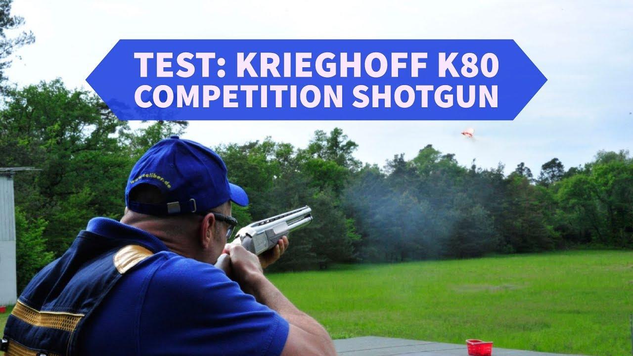 Test: Krieghoff K80 competition shotgun by all4shooters English