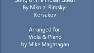 """Song of the Indian Guest"" for Viola & Piano"