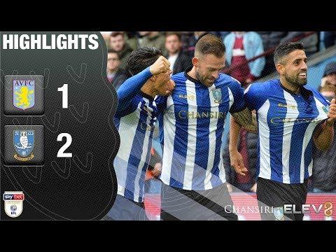 Aston Villa 1 Sheffield Wednesday 2   Extended highlights   2018/19