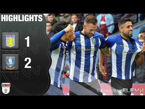 Aston Villa 1 Sheffield Wednesday 2 | Extended highlights | 2018/19