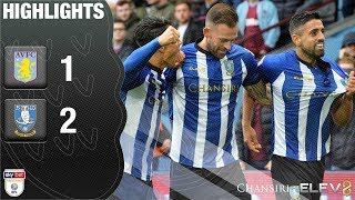 Aston Villa 1 Sheffield Wednesday 2 | Extended highlights | 2018/19