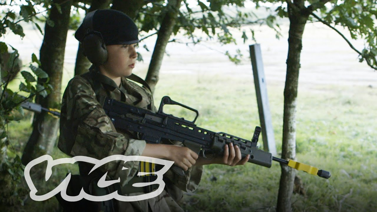 Kids With Guns Uks Army Cadet Force Full Length Youtube