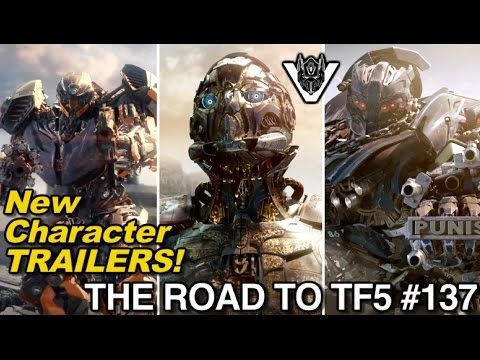 New Transformers 5 Character Trailers!! - [THE ROAD TO TF5 #137]