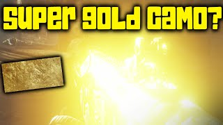 """""""SUPER GOLD CAMO"""" in Call of Duty: Ghosts? (Easter Egg? Lighting Glitch?)"""
