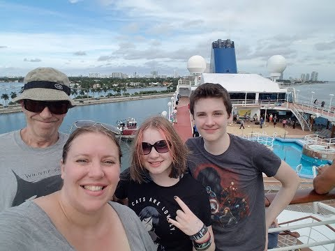 Boarding the Fathom Adonia Cruise Ship -- Again! 🌴 Family Vacation Vlogs [ep1]