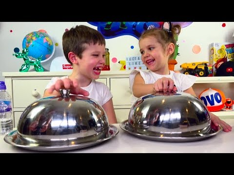 ЧЕЛЛЕНДЖ SQUISHY FOOD ПРОТИВ настоящая ЕДА / REAL FOOD vs squishy toys CHALLENGE!