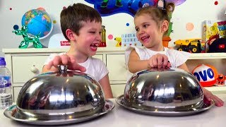 Download ЧЕЛЛЕНДЖ SQUISHY FOOD ПРОТИВ настоящая ЕДА / REAL FOOD vs squishy toys CHALLENGE! Mp3 and Videos