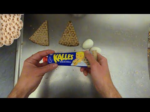 Kalles Egg Crispbread - Simple Swedish Cooking #1