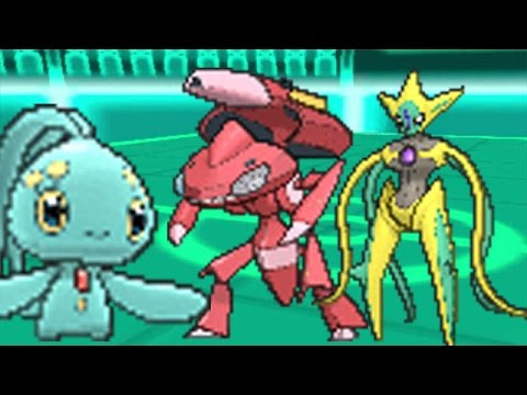 FREE SHINY GENESECT,DEOXYS AND MANAPHY GIVEAWAY (past ...