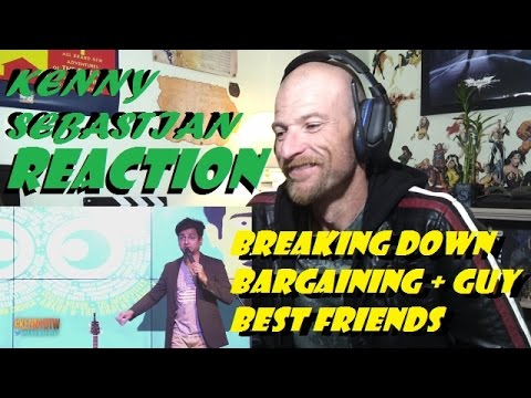 Kenny Sebastian | Breaking Down Bargaining and Guy Best Friends | Stand-up | Comedy -Reaction