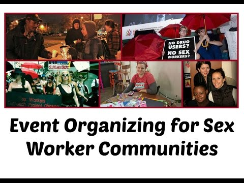 Event Organizing for Sex Worker Communities
