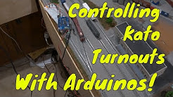 Controlling Kato Turnouts with an Arduino!