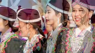 Nkauj Hmoob Zoo Nkauj Picture Slide - Fresno Hmong International New Year 2016 - 2017