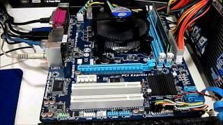tESTE - GIGABYTE H61M-S2PH  intel Pentium G2030