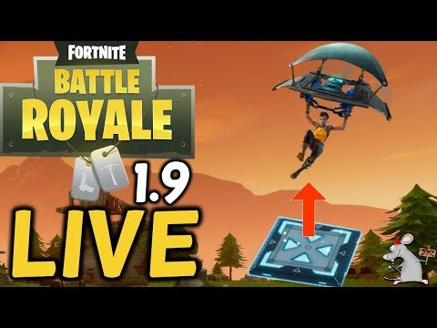 fortnite new update - Winning and new jump pads live