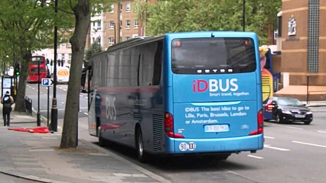 sncf idbus setra cg 253 vb in london 170513