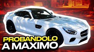 CORRIEND0 EL AMG GTS CON SUS NUEVAS LLANTAS DE CARRERAS.. | ManuelRivera11