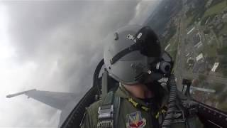 F-16 Viper Demo Team Full Demonstration - 2019 Great Tennessee Air Show