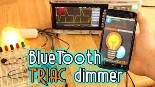 Bluetooth TRIAC AC power control