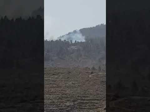 Sofocado el conato de incendio en La Cruz de Tea Granadilla