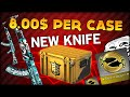 NEW KNIFE?? A BRAND NEW CASE??? 8 DOLLARS PER CASE! IT'S THE SHADOW CASE ��� CS:GO CASE OPENING #7