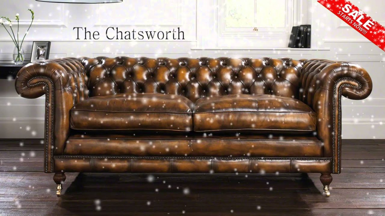 Sofology Sale Distinctive Chesterfields Winter Sale Advert With 10 Discount Code