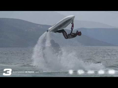 jet ski freestyle tricks by Aleksandar Petrović - European champion