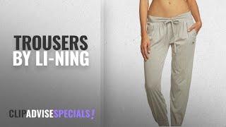 Top 10 Li-Ning Trousers [2018]: Li Ning C618 Women