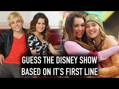 We Try To Guess The Disney Show Based On The First Line