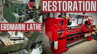 Erdmann lathe restoration