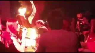 Danza del Fuoco Hot Discoteca Morgana Sanremo 2015