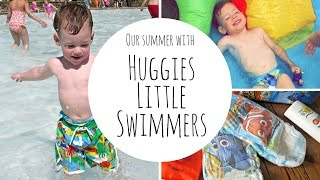 Our Summer with Huggies Little Swimmers #ad