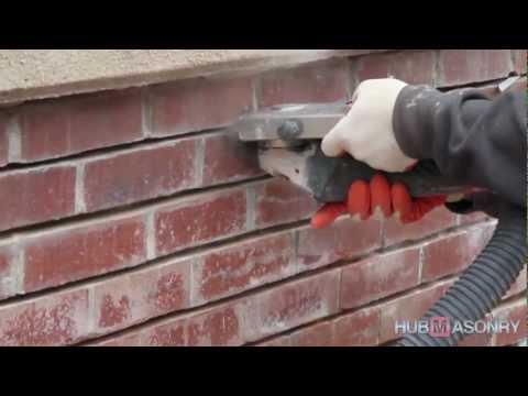 Видео Ремонт кирпичных стен