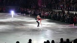 """Финал шоу """"Чемпионы на льду"""".Представление участников"""