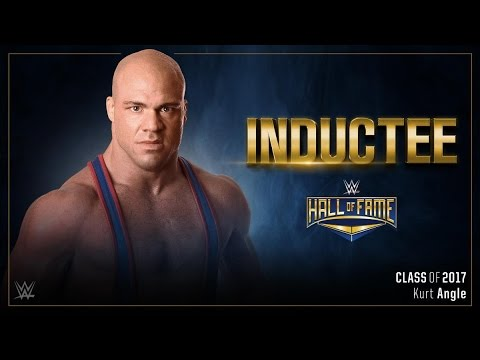 Kurt Angle Confirmed for WWE Hall of Fame | WrestleMania 33