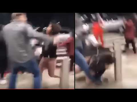 David Steven Bell 51 Y/O White Man Knocks Out 12 Y/O Black Girl At NC Asheville Mall