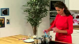 Oat Cream Pudding With Jelly - بودينغ كريم الشوفان مع الجيلي