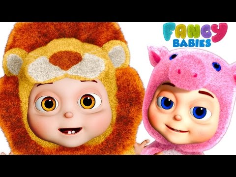 Animal Sounds Song For Babies - Part 1 | Fancy Babies Nursery Rhymes | Kids Songs and Baby Rhymes