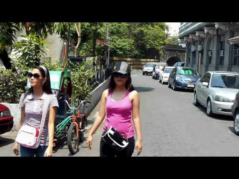 My tour of Intramuros Manila (The Walled City in Manila) Philippines