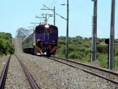 Transnet Freight Rail Class 7E at Spyfontein with 'The Pride of Africa'