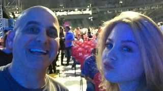 Rod Stewart Concert - Curitiba, Brazil - September 2015  - Music by Rod Stewart (Please)