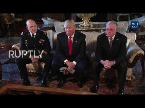 USA: Trump appoints General H. R. McMaster as new national security advisor