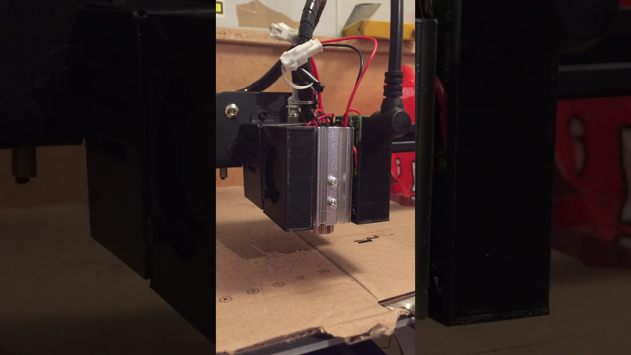 CR10's Magnetic Removable Laser Option (FR/EN): 8 Steps