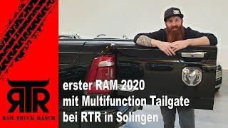 erster RAM 2020 mit Multifunction Tailgate - RTR - RAM Truck Ranch
